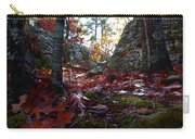 Leaves In The Forest Carry-all Pouch