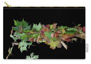 Leaves On Sidewalk Carry-all Pouch