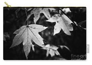 Leaves Without Color Carry-all Pouch