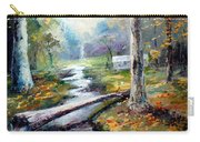 Leaving The Woodland Creek  Carry-all Pouch