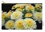 Lemon Meringue Chrysanthemums Carry-all Pouch