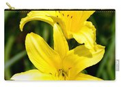 Lemon Peel Yellow Carry-all Pouch
