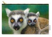 Lemurs Carry-all Pouch