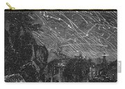 Leonid Meteor Shower, 1833 Carry-all Pouch by Granger
