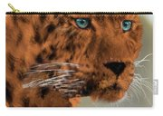 Leopard - Featured In The Group Wildlife Carry-all Pouch