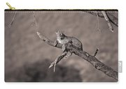 Leopard Panthera Pardus In A Tree Carry-all Pouch