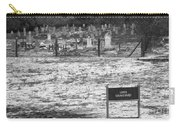 Leper Graveyard On Robben Island Carry-all Pouch