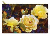 Les Roses Sauvages Carry-all Pouch
