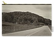 Let It Roll Monochrome Carry-all Pouch by Steve Harrington