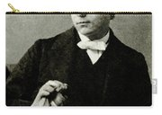 Lewis Carroll, English Author Carry-all Pouch by Photo Researchers