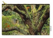 Lichen Covered Apple Tree, Walled Carry-all Pouch