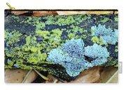 Lichen On Fallen Branch Carry-all Pouch