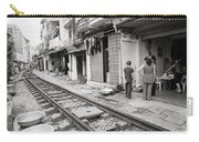 Life By The Tracks In Old Hanoi Carry-all Pouch