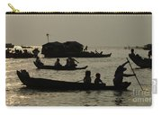 Life On Lake Tonel Sap Carry-all Pouch