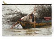 Life On Lake Tonle Sap 3 Carry-all Pouch