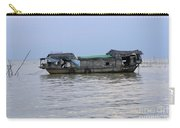 Life On Lake Tonle Sap 6 Carry-all Pouch