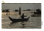 Life On Lake Tonle Sap 7 Carry-all Pouch