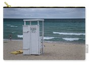 Lifeguard Station At The Beach Carry-all Pouch