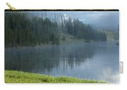 Lifting Fog On The Yellowstone Carry-all Pouch