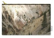 Light And Shadows In The Grand Canyon In Yellowstone Carry-all Pouch