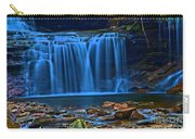 Light Blue Falls Carry-all Pouch