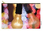 Light Bulb And Bokeh Carry-all Pouch