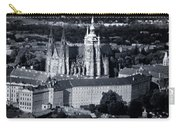 Light On The Cathedral Carry-all Pouch by Joan Carroll