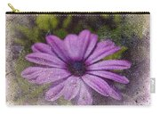 Light Purple Daisy Carry-all Pouch