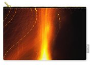 Light Waves Dancing Around The Flames Of A Fire Cracker Carry-all Pouch