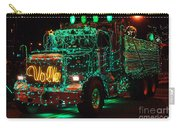 Lighted Green Dumptruck Carry-all Pouch