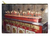Lighted Incense Sticks Carry-all Pouch