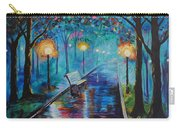 Lighted Park Path Carry-all Pouch