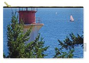 Lighthouse And Sailboats Carry-all Pouch