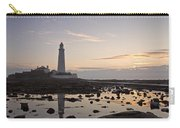 Lighthouse At Low Tide Carry-all Pouch