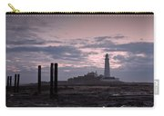 Lighthouse At Low Tide II Carry-all Pouch