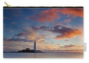 Lighthouse At Sunrise Carry-all Pouch