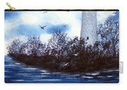 Lighthouse Blues Painterly Style Carry-all Pouch