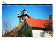 Lighthouse In The Fall Carry-all Pouch
