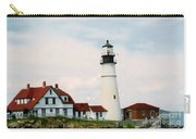 Lighthouse Maine Carry-all Pouch