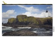 Lighthouse On Coastal Cliff Carry-all Pouch