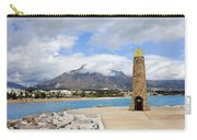Lighthouse On Costa Del Sol In Spain Carry-all Pouch