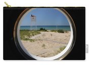Lighthouse Window To Lake Carry-all Pouch