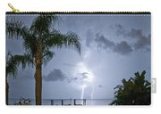 Lighting In The Backyard  Carry-all Pouch