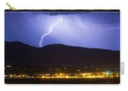 Lightning Striking Over Ibm Boulder Co 1 Carry-all Pouch