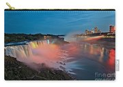 Lights On Niagara Carry-all Pouch