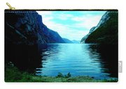 Ligth Fjord Norway Carry-all Pouch