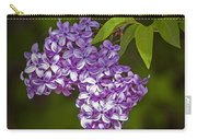 Lilac Flower Blossoms No. 319 Carry-all Pouch
