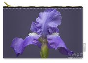 Lilac Iris Carry-all Pouch
