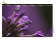 Lilac Spirals. Carry-all Pouch