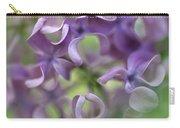 Lilac Syringa Sp Flower, Close Carry-all Pouch